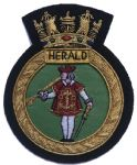 HERALD - Blazer Badge~OFFICIALLY LICENCED PRODUCT (1) (2)